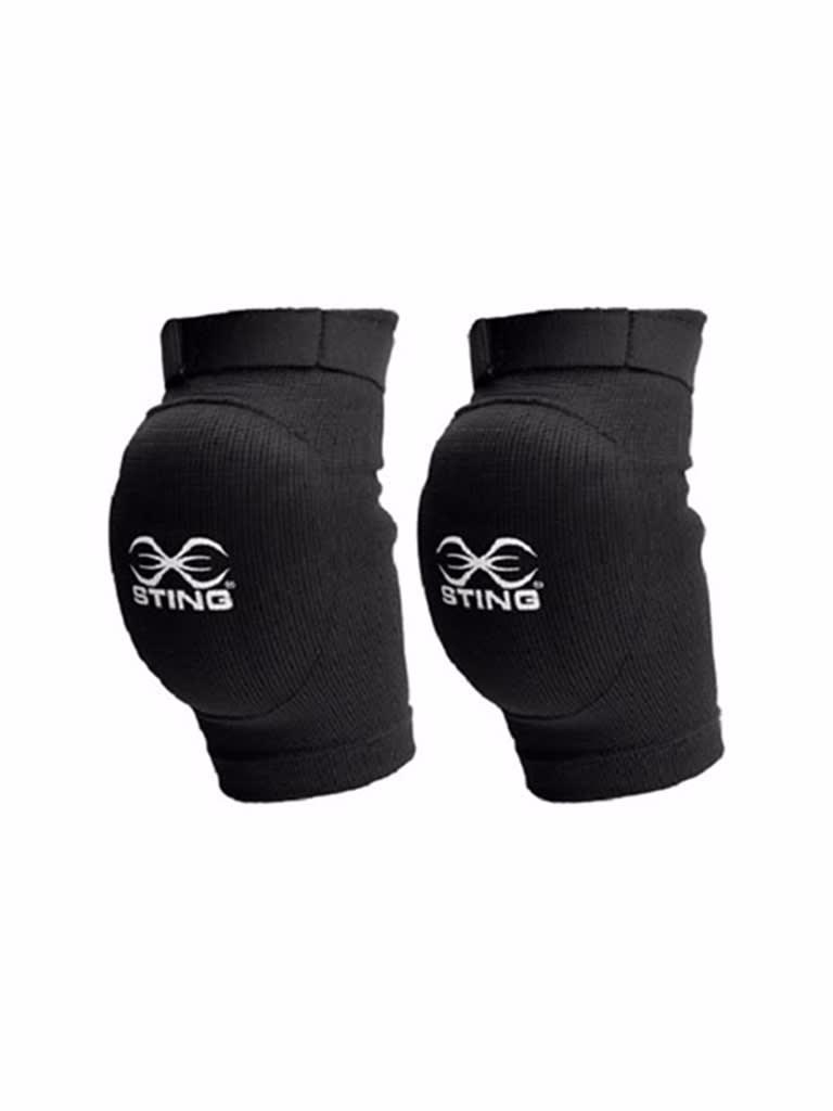 Cotton Elbow Guard Black S-M