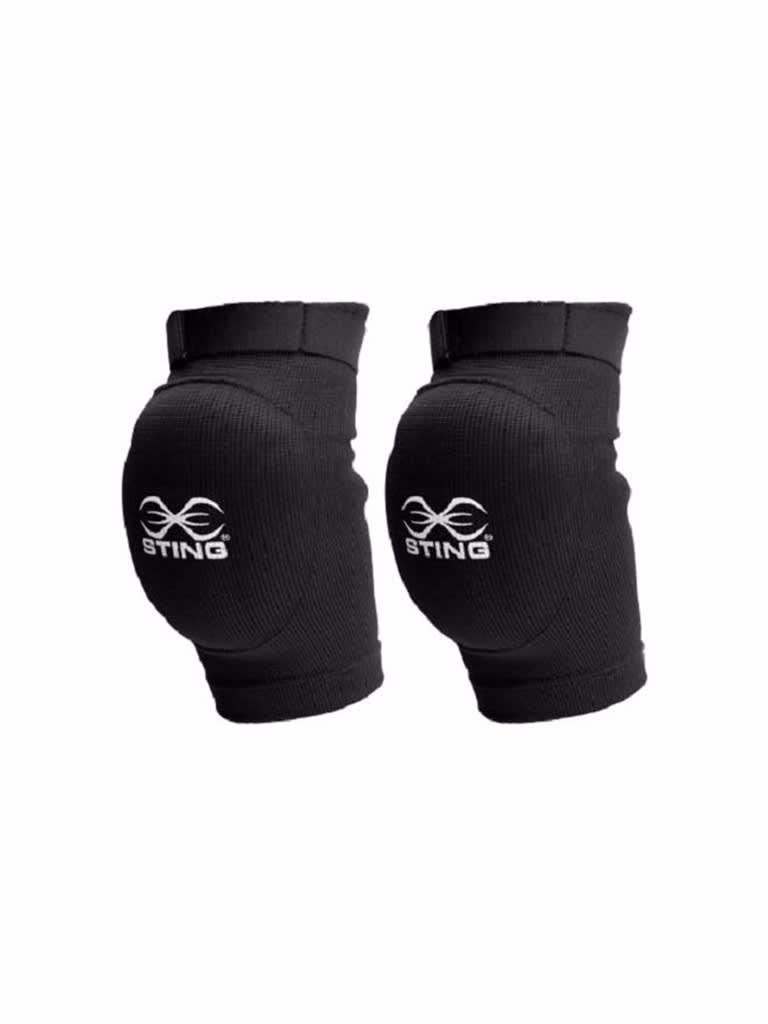 Cotton Elbow Guard Black L-Xl