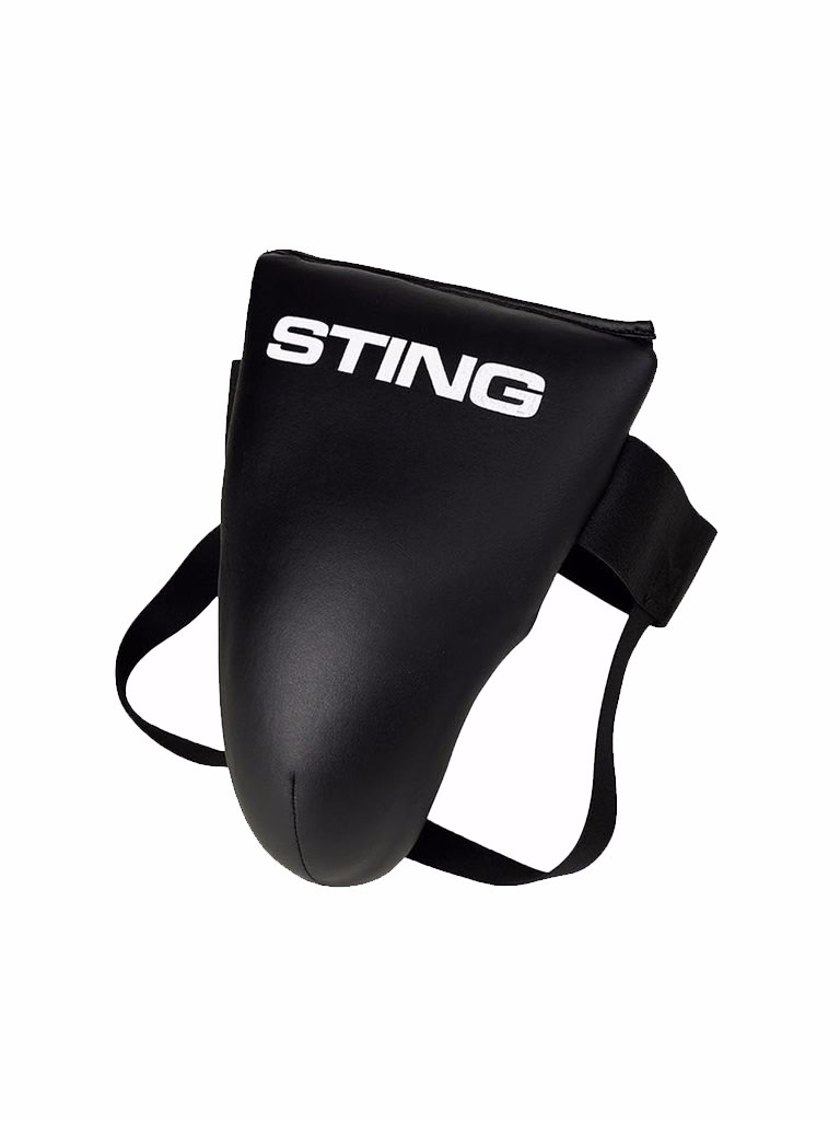 Competition Light Groin Guard Black M