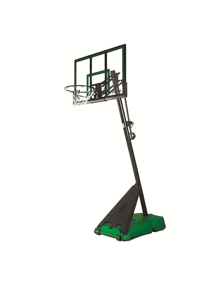 Gold 54 inch Portable Basketball Hoop