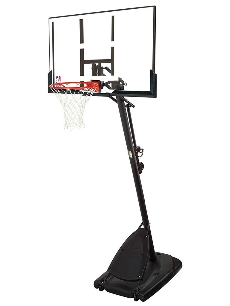 52 Inch NBA Silver Basketball System