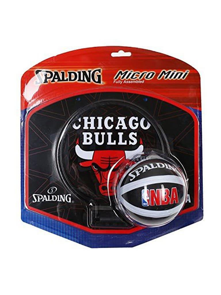 Kids NBA Team Bulls Micro Mini Backboard Set