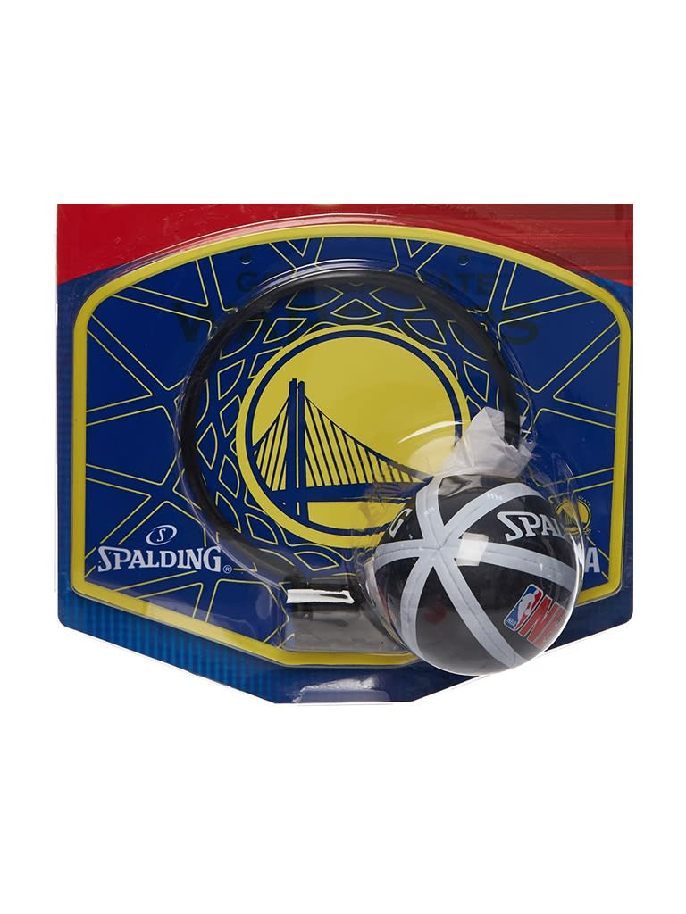 Kids NBA Team Warriors Micro Mini Backboard Set