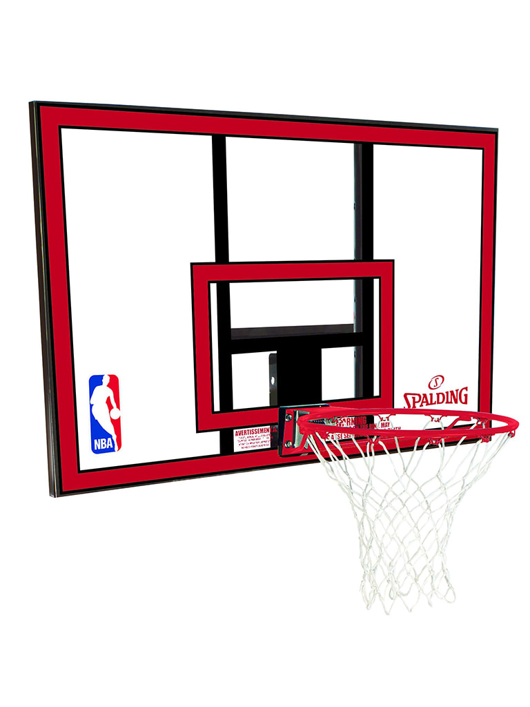 NBA 44 inch Polycarbonate Combo BackBoard