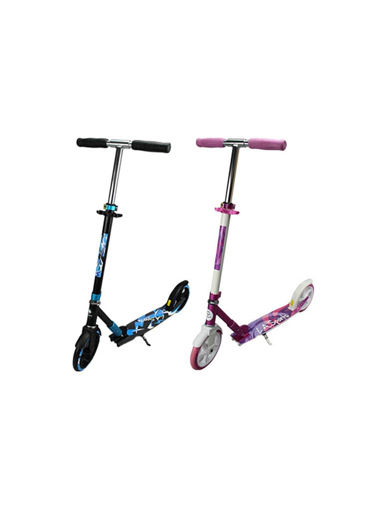 Scooter With Kick Stand