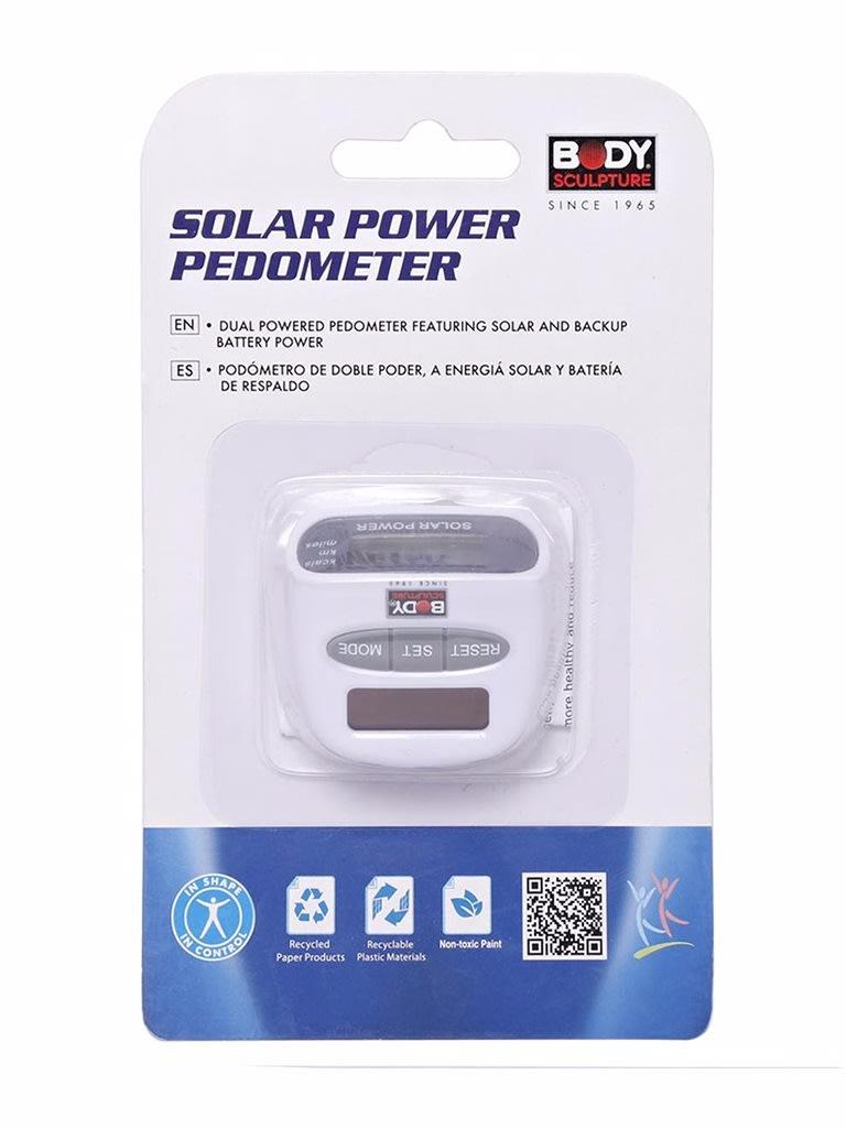 Solar Power Pedometer