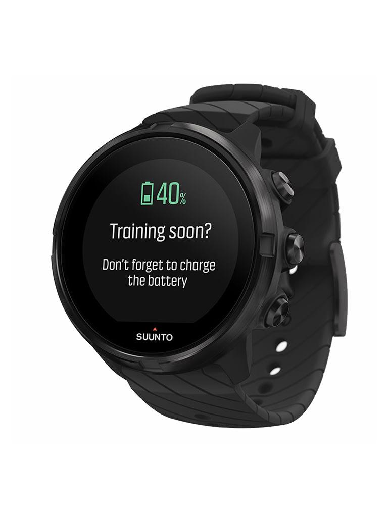 9 Sports Smart Watch, All Black