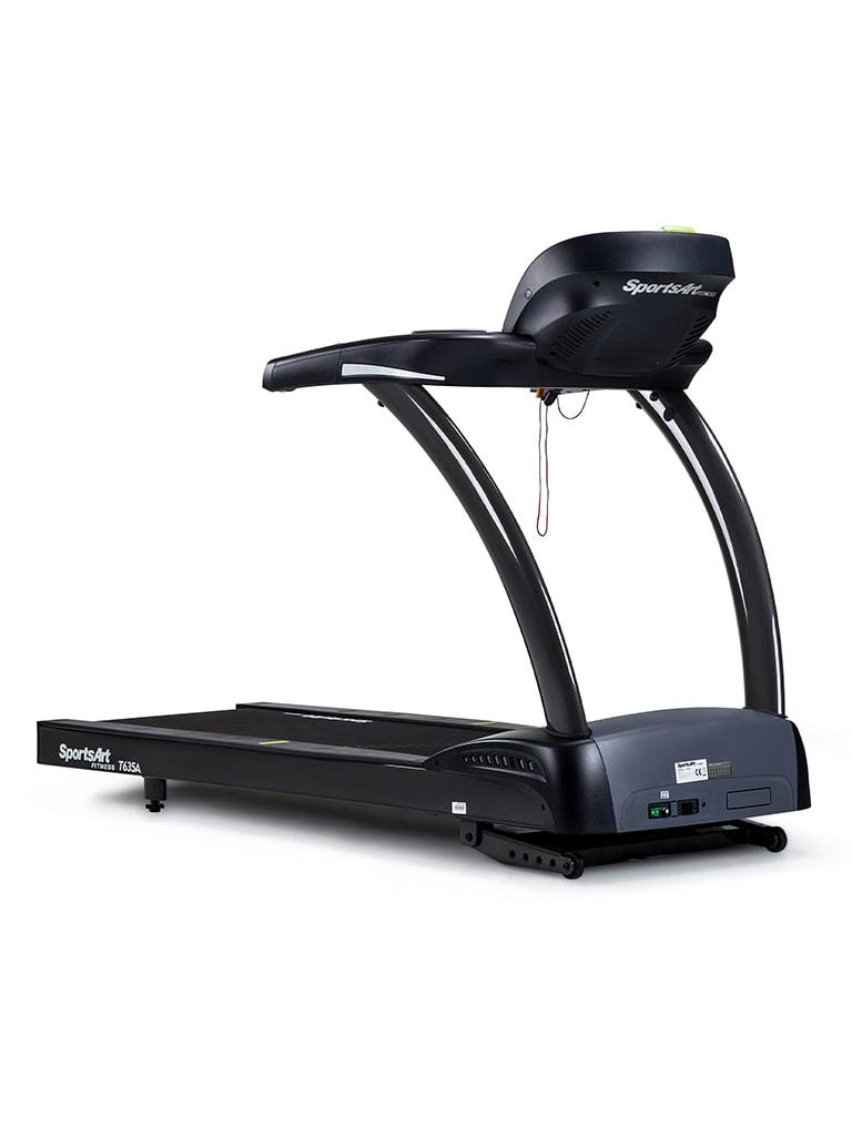 Treadmill 4hp Dc with HRC, Led Dot Matrix Display