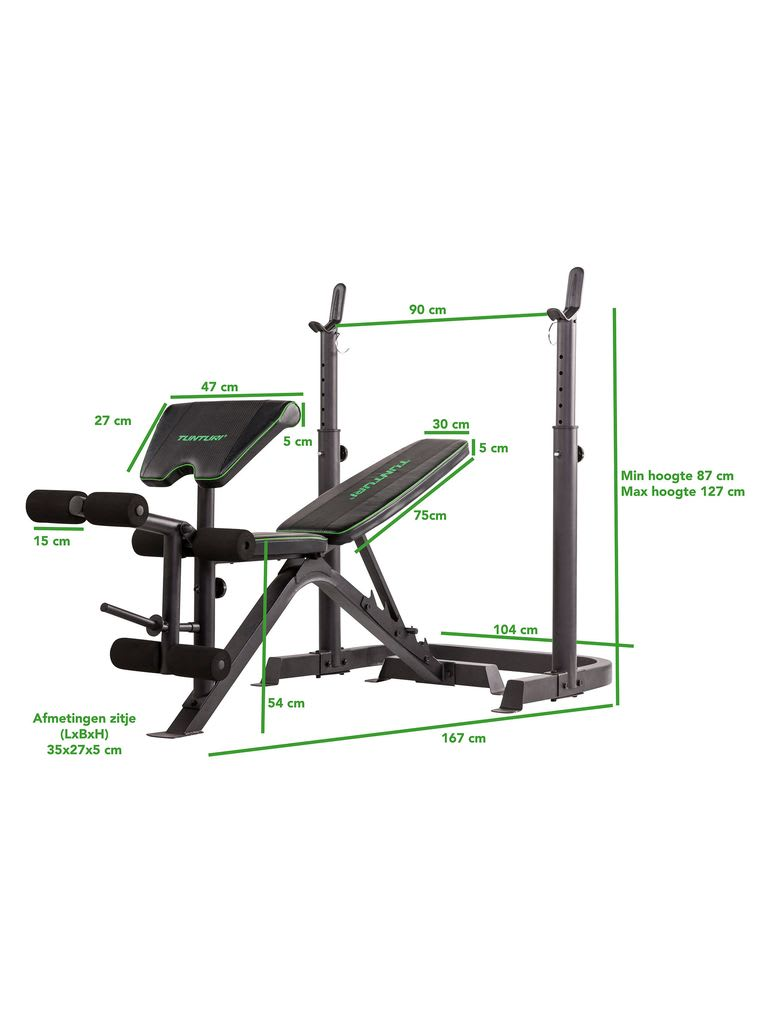 WB50 Mid Width Weight Bench