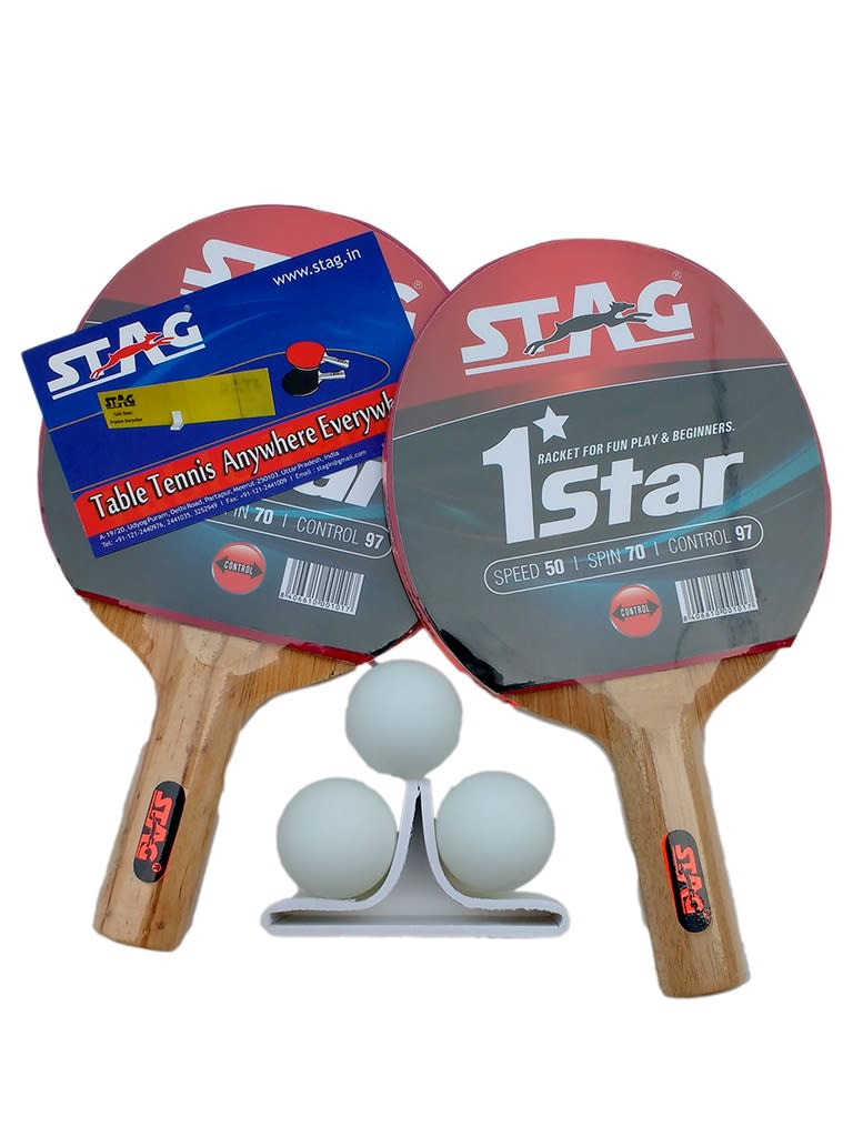 Playset One Star Table Tennis