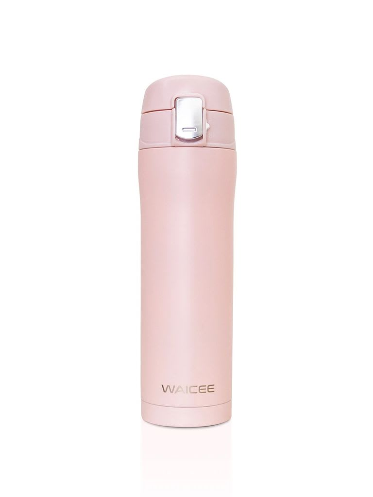 Stainless Steel Water Bottle Vacuum - Insulated, 450 ml - Champagne pink
