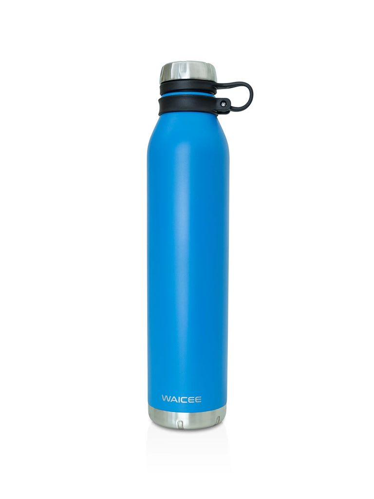Stainless Steel Water Bottle Vacuum - Insulated, 1000 ml - Royal Blue
