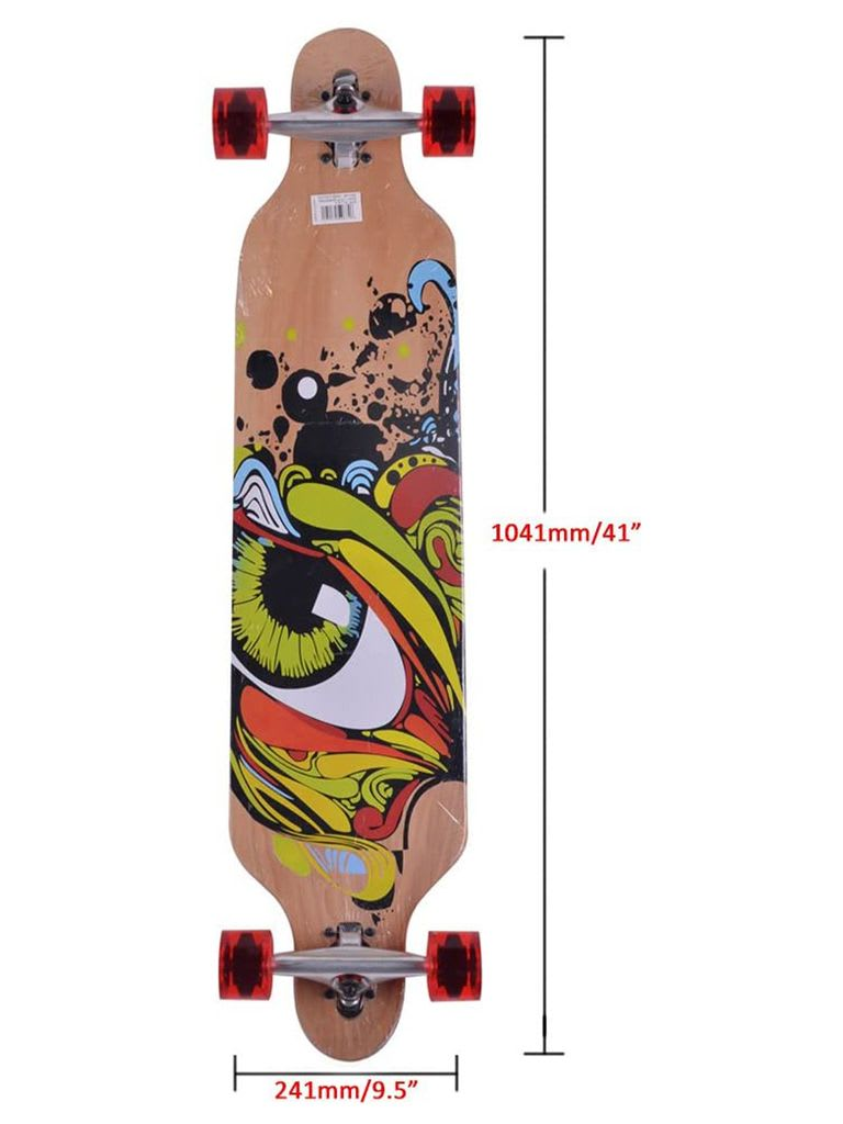 Route-E Long Skateboard, 9 Ply Chinese Maple 41'' x 9.5''