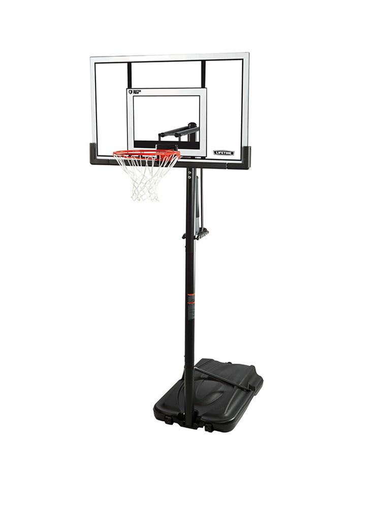 52 inch Adjustable Portable Basketball Hoop