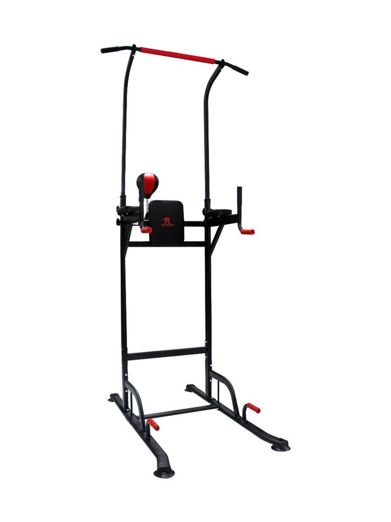 Vertical Knee Raise Gym Training Z6206C Black/Red