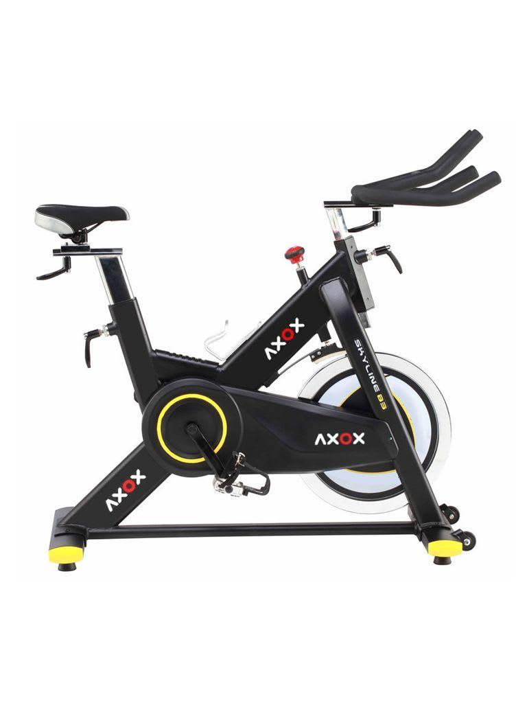 2.25 CV Touch Screen Treadmill + Axox Skyline Spin Bike S20 Combo Set