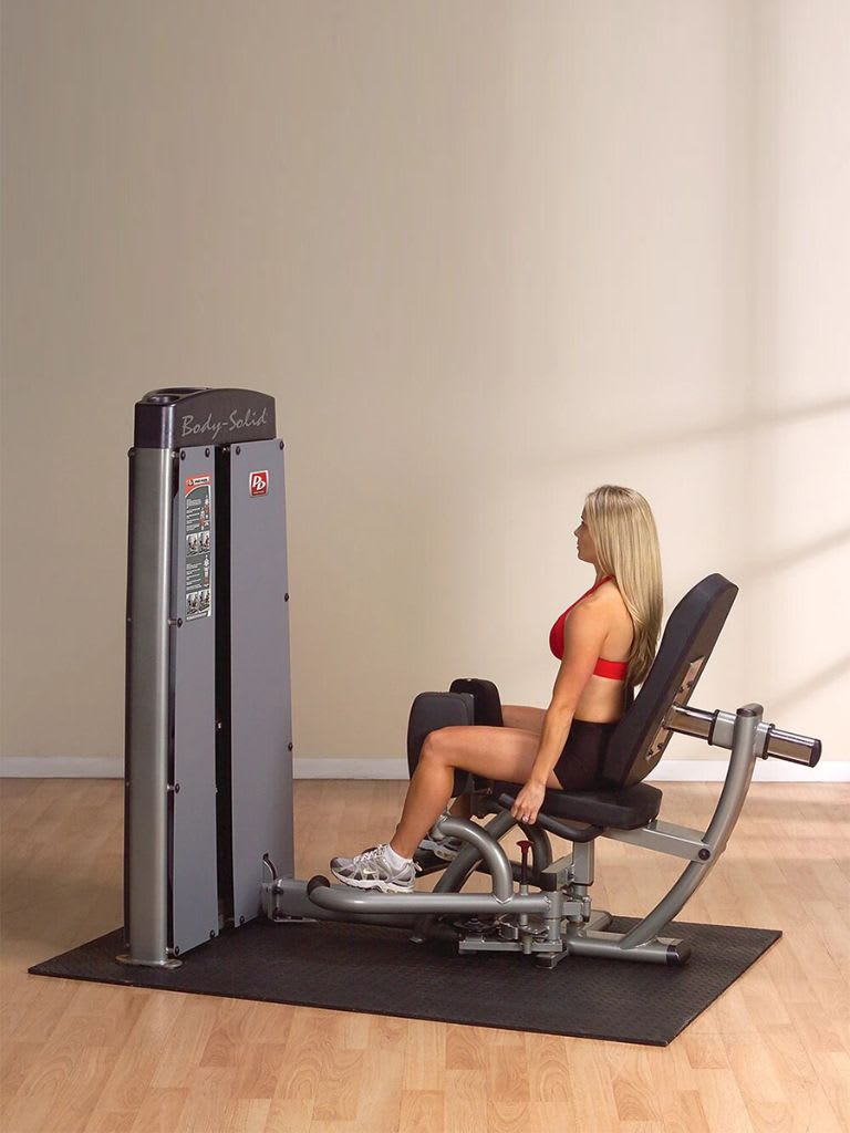 Dual Inner & Outer Thigh Machine with Stack   DIOTF