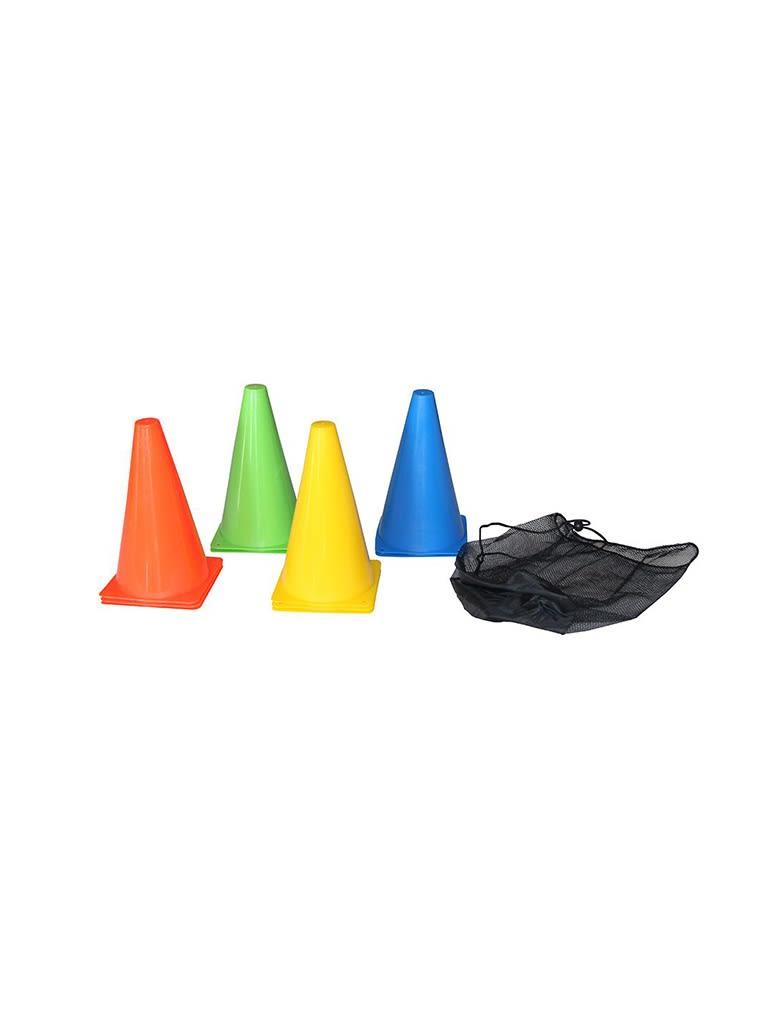 Training Cone Set - 10pcs | 23cm | Multicolor