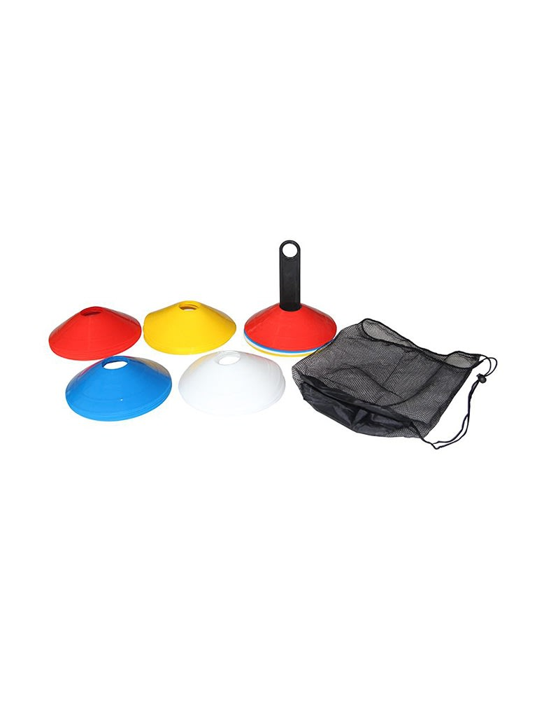 Agility Cone Set with Rack - 40 pieces
