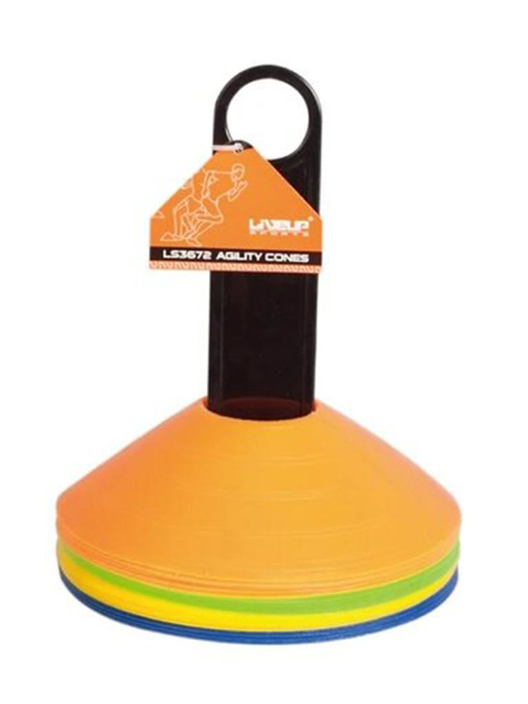 Agility Cones Set With Rack LS3672