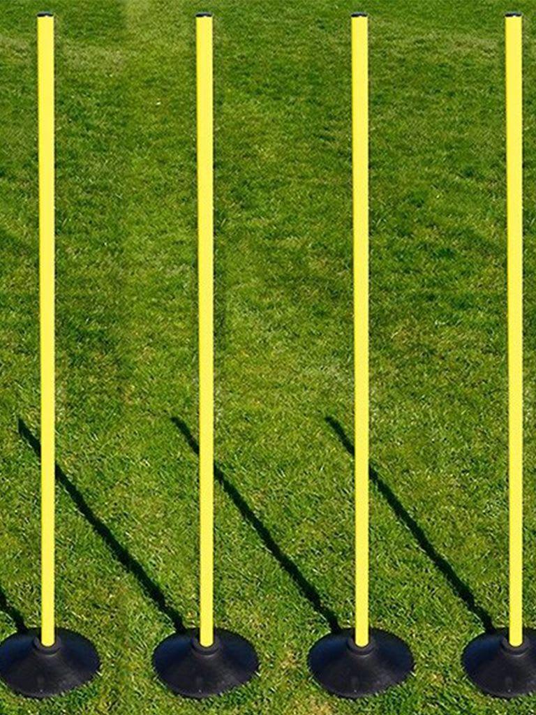Rounders Base and Pole Set | Set of 4