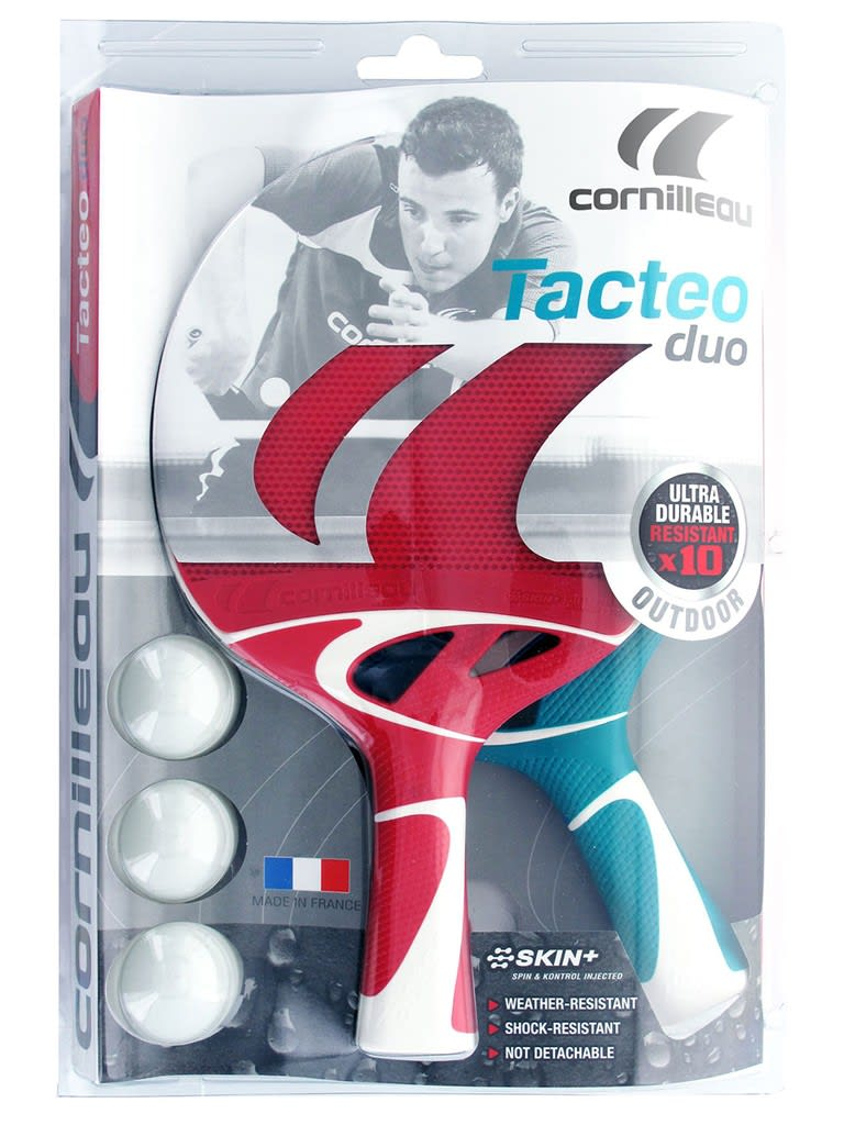 Tacteo Pack Duo   2 Bats + 3 Balls