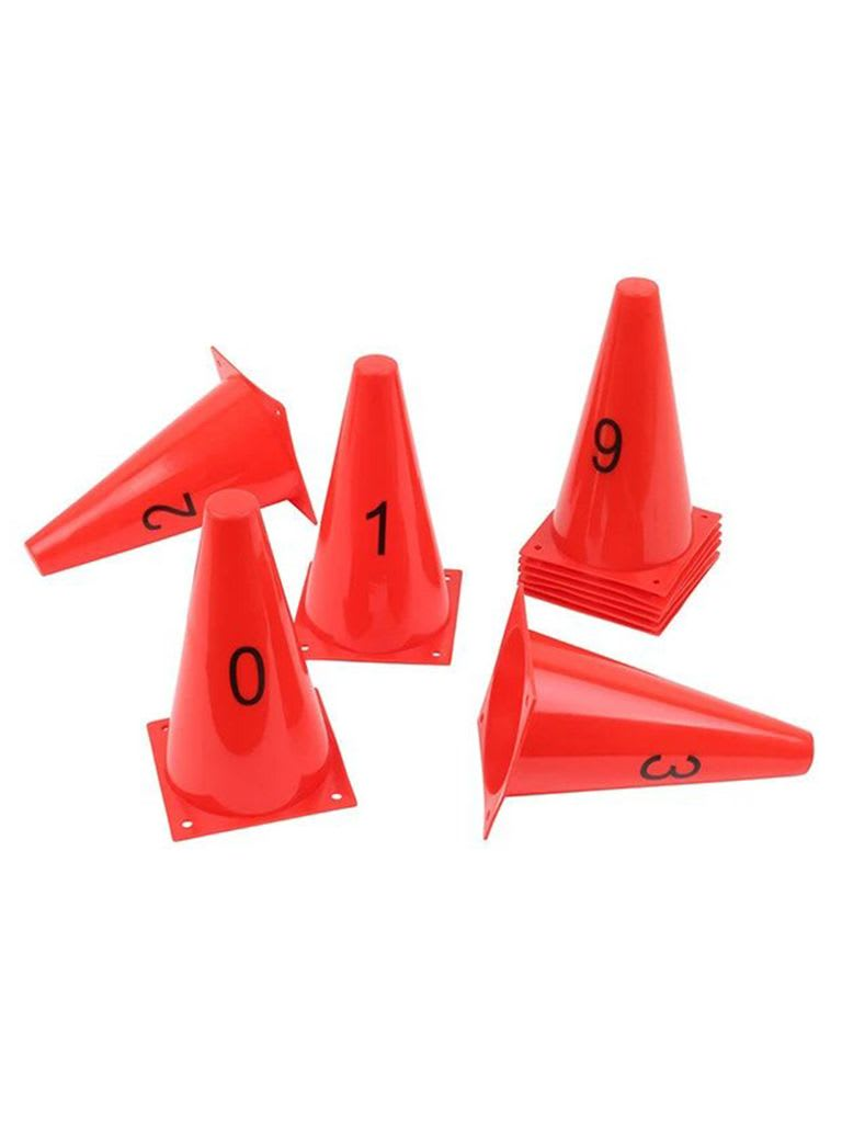 Numbered Cone Set | Set of 10