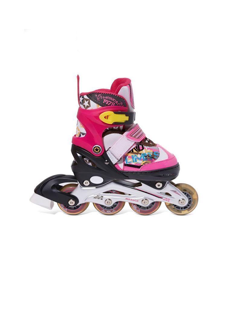 Adjustable Inline Roller Skate | MCB21031 Pink Alum