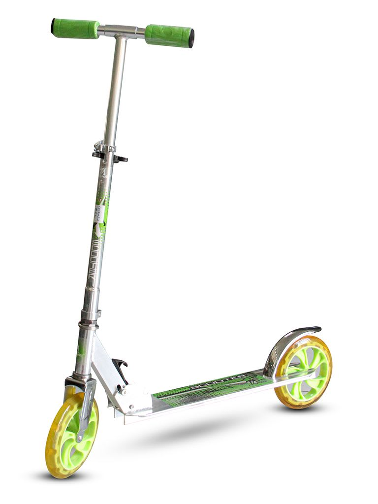 2 Wheel MDS-100-S Alum Scooter   Size 200 mm