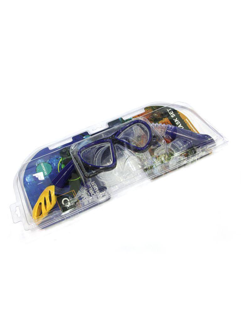 Da Snorkel Mask Set DEA82430 Blue