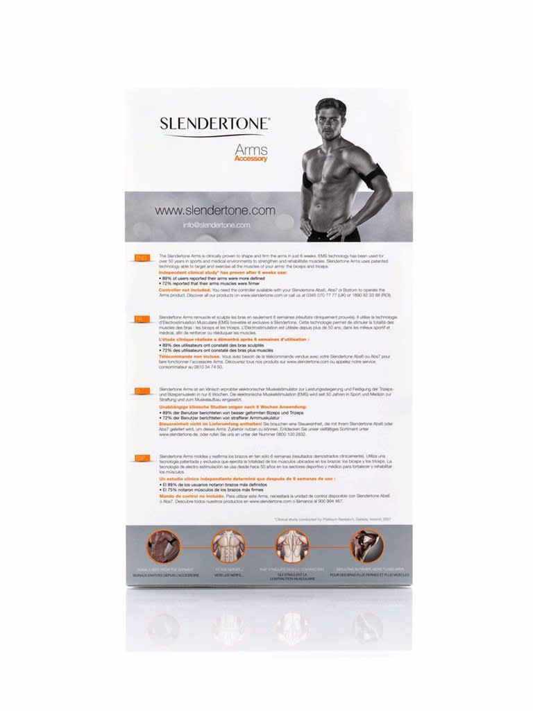 Men's Arms Toner Accessory Without Controller