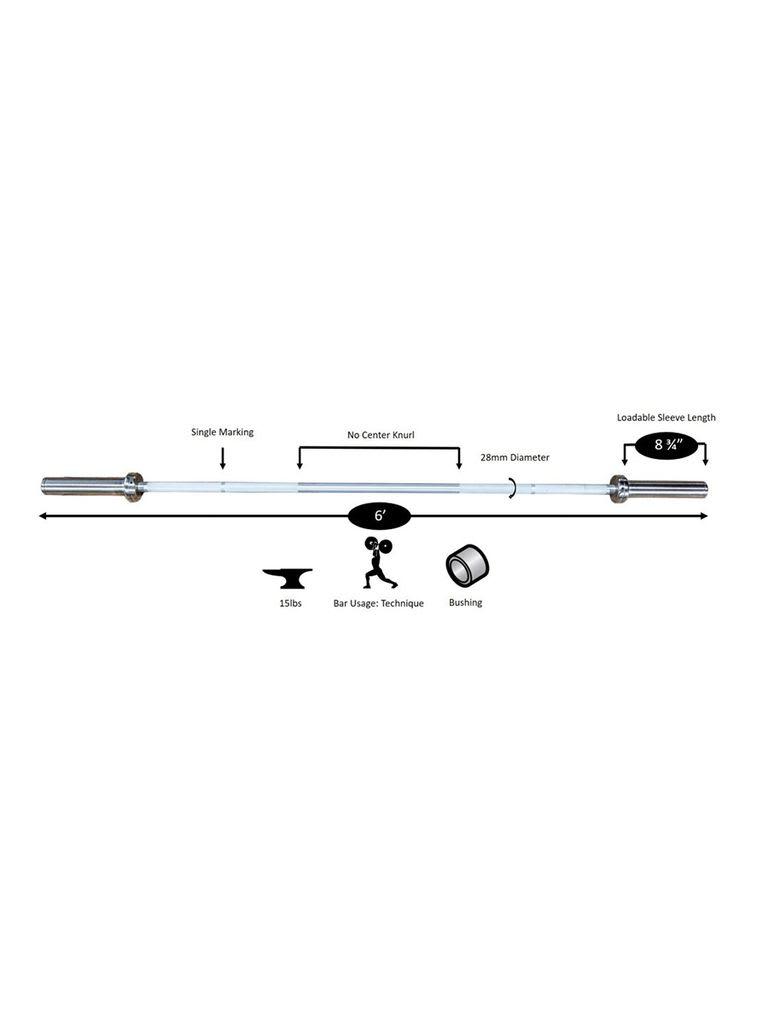 Bar Olympic Aluminium Technique Bar | 32032
