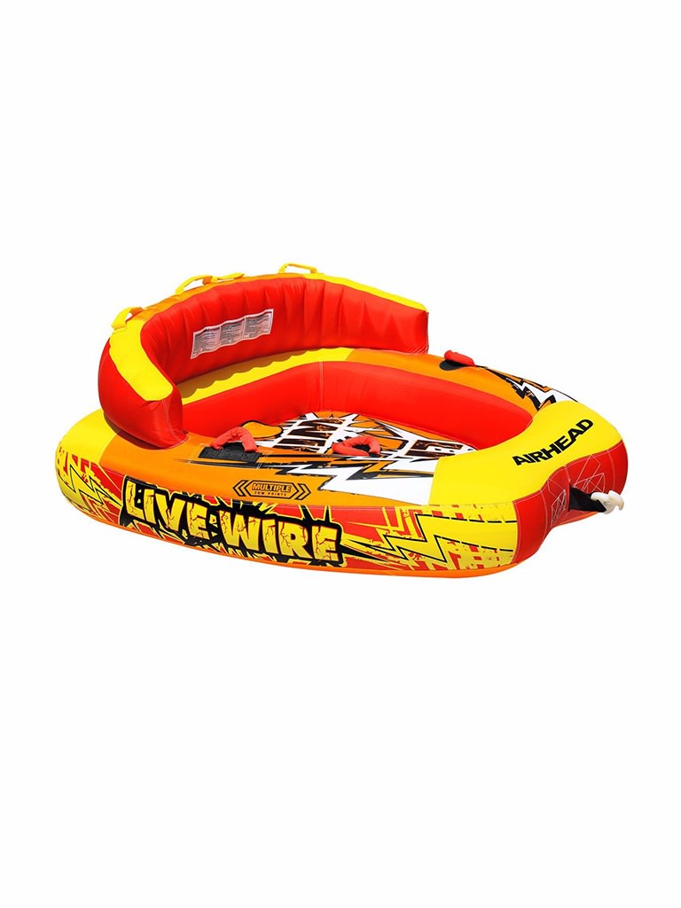 Live Wire 2 Towable Tube - 2 Person