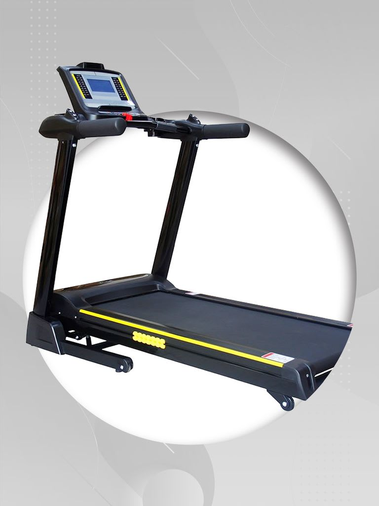 Treadmill + Bench + Weight Set + Yoga Mat Combo