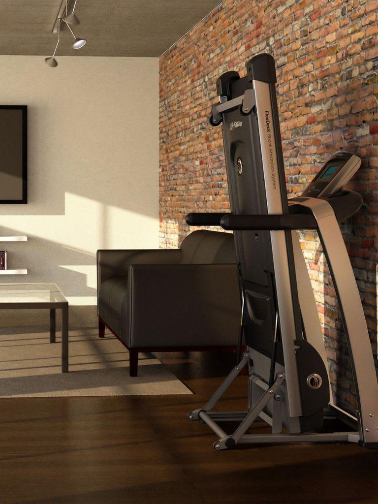 F3 Folding Treadmill, Base+Go Console