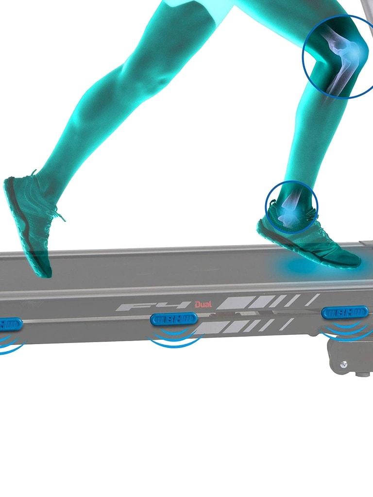 Treadmill F4 Dual