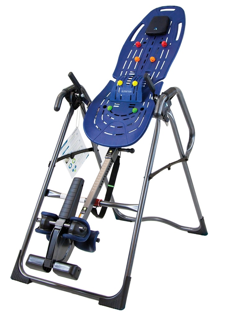 EP-970 Ltd Inversion Table With Back Pain Relief Kit