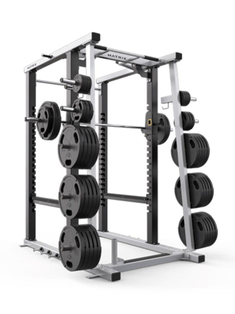 Mega Full Power Rack 8 Inch Tall
