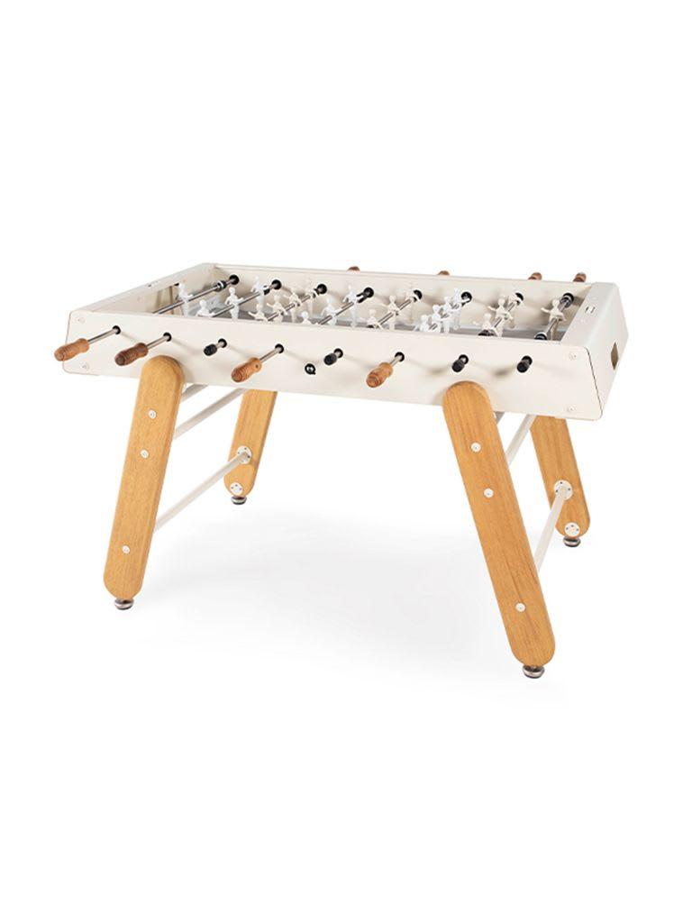 RS-KS RS4 Foosball Table Indoor/Outdoor with Iroko Wood Legs