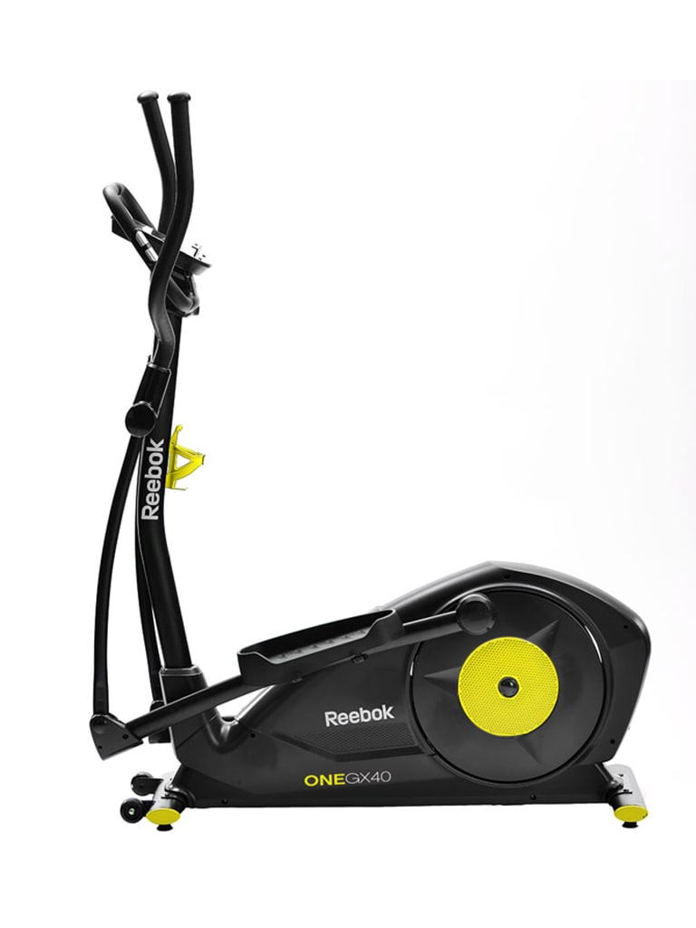 GX40 One Series Cross Trainer - Black   Yellow