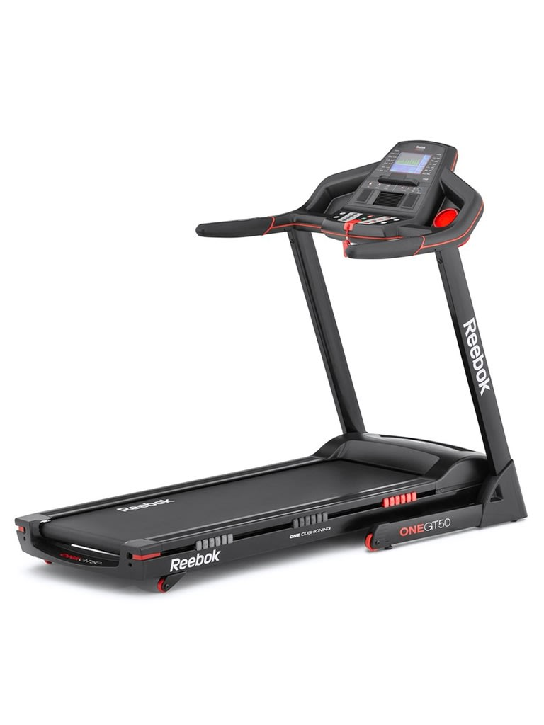 GT50 One Series Treadmill with Bluetooth   Black