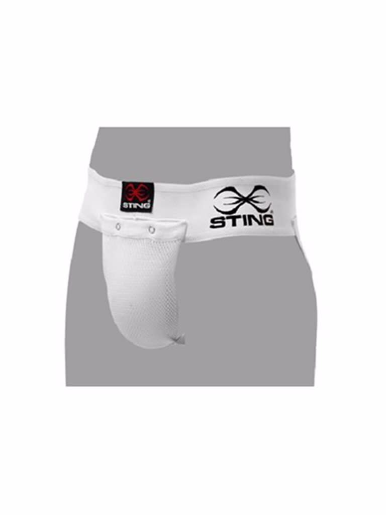 Cotton Groin Guard White Xl