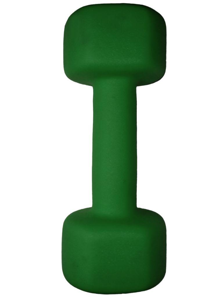 Dumbbell Neoprene Green  - 3 KG