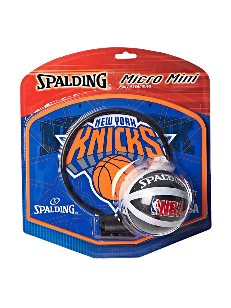 Kids NBA Team Knicks Micro Mini Backboard Set