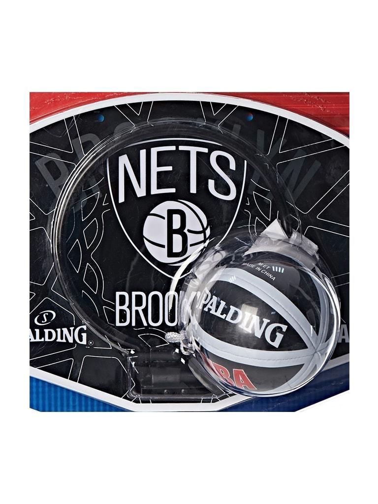 Kids NBA Team Nets Micro Mini Backboard Set