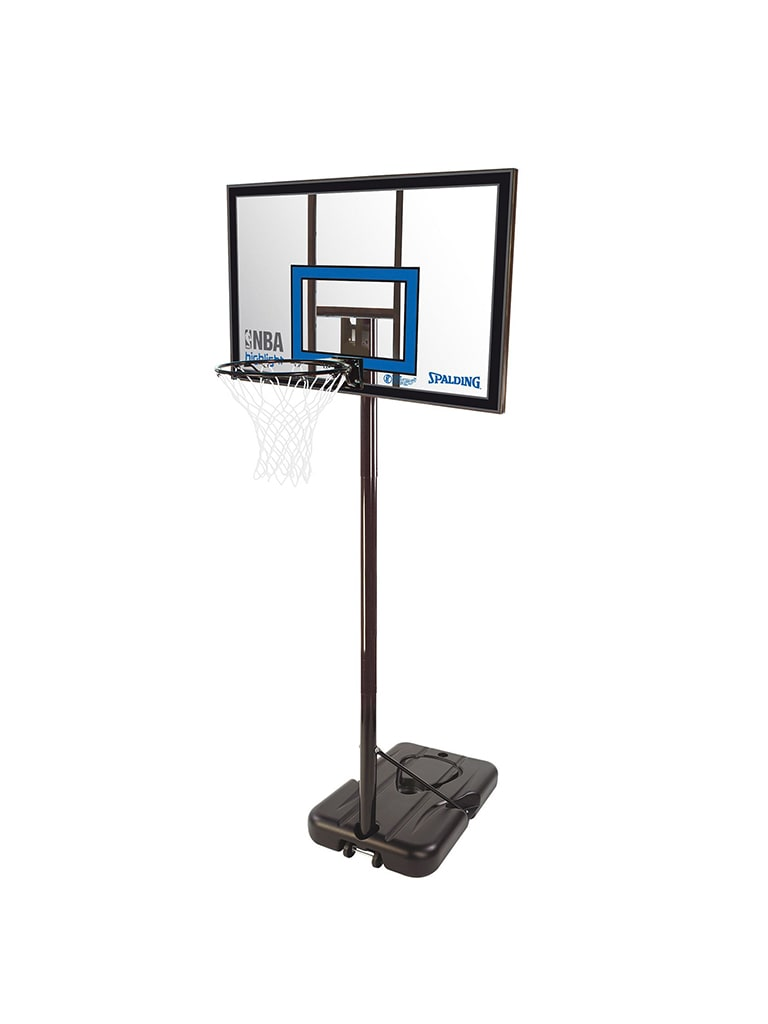 Highlight 42 Inch Portable Acrylic Basketball Hoop