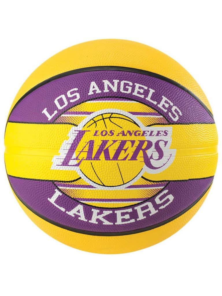 NBA Team Rubber Basketball La Lakers - Size 7