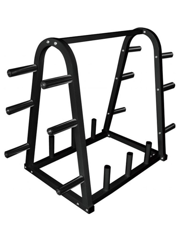 Weight Plate Bar Rack