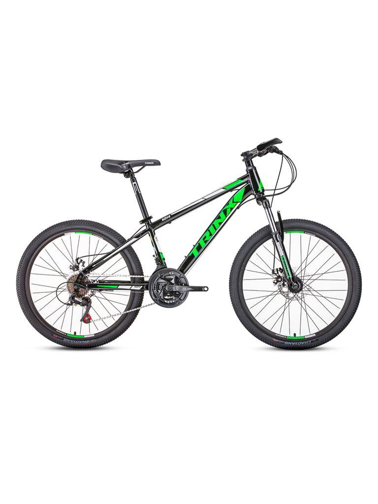 24 K014 Bicycle | Black Green White