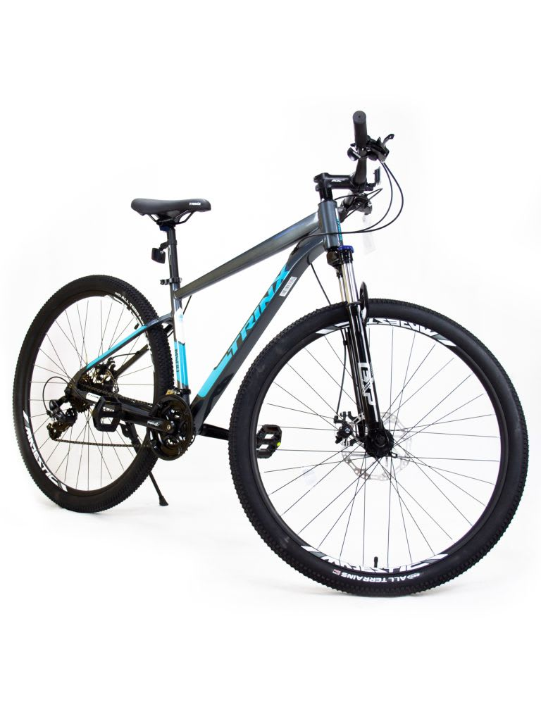 29 M500 Pro Bicycle Glossy Grey White Blue